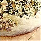 2017年クリスマスツリースカート クリスマス飾り 円形 可愛いツリースカート豪華 ベースカバー オーナメント インテリア (122cm)