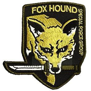 FOXHOUNDパッチ メタルギア 刺繍 MGS4 フォックスハウンド