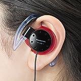 パナソニック オープン型オンイヤーヘッドホン 耳掛け式 防滴仕様 スポーツ用 ブラック RP-HZ11-K 画像