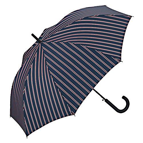 ワールドパーティー(Wpc.) 雨傘 長傘 ジャンプ傘 ネイビー 65cm レディース メンズ ユニセックス MSL-011