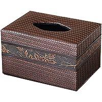 ティッシュボックスリビングルームティーテーブルオフィスレザーパッキングペーパーボックス