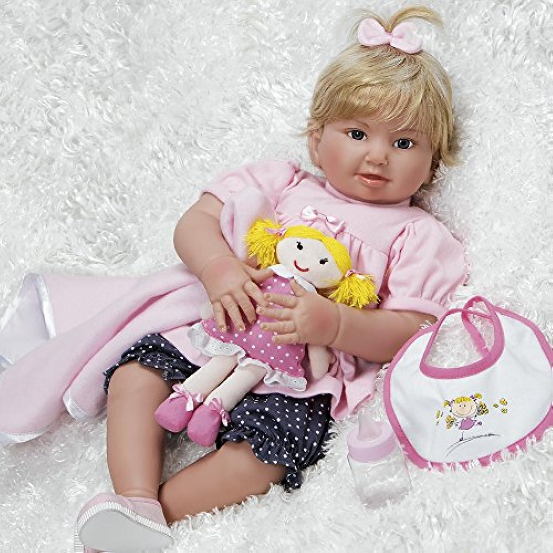 パラダイスギャラリーリアルな幼児用Great to Reborn人形、ベビーBlake、Girl Doll Crafted inソフトビニールとWeightedボディ、20インチ