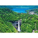 500ピース ジグソーパズル 中禅寺湖と華厳の滝 (38x53cm)