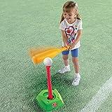Step2 幼児用 Tボール & ゴルフ 屋内 屋外 学習 スポーツプレイセット (2個パック)
