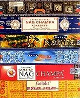 線香Satya Nag Champa 12箱6 Nagchampaフレグランスホームフレグランス