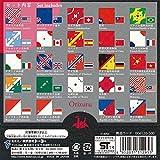 トーヨー 折り紙 おりづる 国旗 15cm角 24柄 48枚入 006120 画像