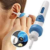 Electric Cordless Ear Pick Safe Vibration Painless Earwax Cleaner Remover Spiral Ear Wax Removal Cleaning Device Dig Wax Pers