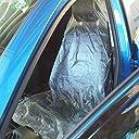 車 使い捨て ビニール シートカバー 100枚 セット 業務用 座席 汚れ 防止 保護 運転席 助手席