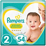 Pampers New Baby Size 2, 54 Nappies, 4-8kg