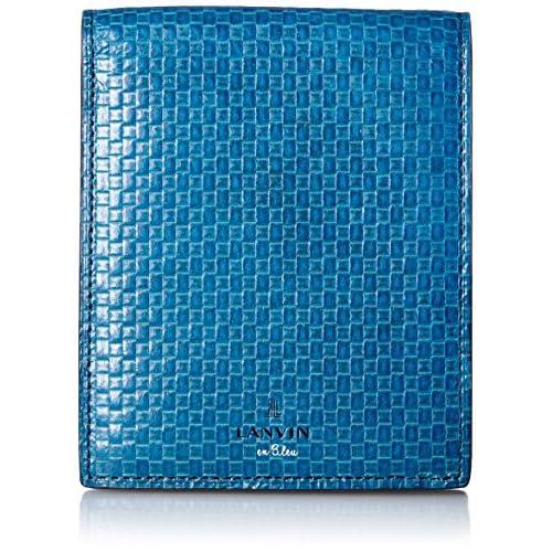 [ランバンオンブルー] LANVIN en Bleu 二つ折り財布 エスパス 551604 BLU (ブルー)