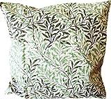 William Morris ウィリアム モリス Cushion Cover クッションカバー(43cm × 43cm) Green Willow ( グリーンウィロー ) CC31