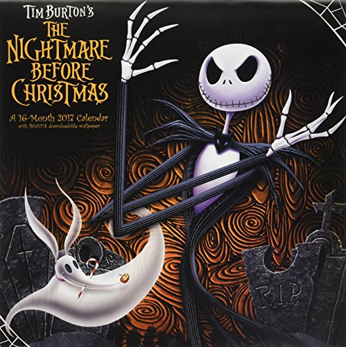 The Nightmare Before Christmas 2017 Calendar: Includes Downloadable Wallpaper