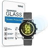 (3枚入り) Frgnie for Skagen Falster 3 スクリーン保護フィルム, 9H 強化 ガラス 保護フィルム 対応 [スカーゲン] Falster 3 Smartwatch スマート腕時計