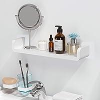Aelfox 粘着式 浴室用ラック丨シャワーラック お風呂 バスラック タワー 壁 棚 洗面所ラック ホルダー 壁掛けラ…