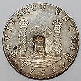 メキシコ 1755年 フェルディナンド6世 8 Reales 銀貨