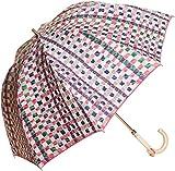 (ムーンバット) MOONBAT cocca 遮熱&1級遮光 晴雨兼用ショート傘 チェック柄 「mini check」
