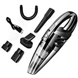 Handheld Vacuum Cordless Cleaner, Multi-Function Car Vacuum Cleaner Cordless with USB Charger 120W 3000 PA High Power Car Was