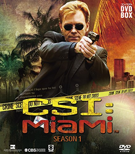 CSI:マイアミ コンパクト DVD‐BOX シーズン1
