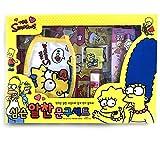 The Simpsons Childrens StationaryギフトセットBartリサ・マージ・マギー・ホーマースプリングフィールド