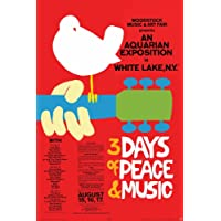 Poster - Woodstock - Red Wall Art Licensed Gifts Toys 24772