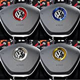 Negesu(ネグエス) VW フォルクスワーゲン ハンドル センター ロゴ アルミ リング