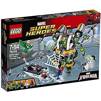 レゴ (LEGO) スーパー・ヒーローズ スパイダーマン:ドック・オックの触手の罠 76059