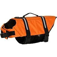 TOPSOSO ライフジャケット ドッグウェア 救命胴衣 海 川 浜辺 水遊び 水に慣れる 夏 安全を守る 運動不足とス…