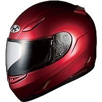 オージーケーカブト(OGK KABUTO)バイクヘルメット フルフェイス FF-R3 シャイニーレッド S (頭囲 55…