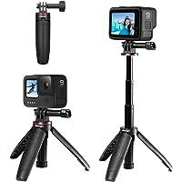 Ulanzi GoPro専用 自撮り棒 セルカ棒 3段伸縮 3way自撮り棒 +伸縮一脚+三脚 GoPro hero 9…