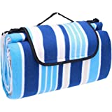 ValueHall Outdoor Picnic Blanket Water-Resistant Extra Large Camping Blanket Beach Mat 200×200cm V7014
