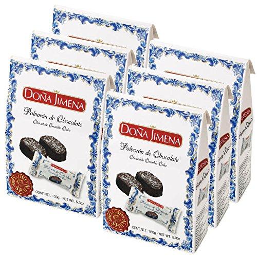 スペイン 土産 ポルボロン チョコ味 6箱セット (海外旅行 スペイン お土産)