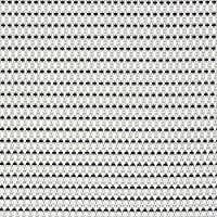 Paderno World Cuisine 42950-09 x 6Placemats - black & white, L 16.5 x W 13 x H 0.125