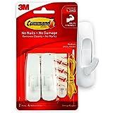 Command Utility Hooks, Medium, White, 2-Hooks (17001ES)