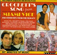 Plays 'Crockett's song from Miami Vice' and other hits from film & tv