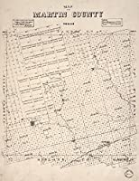 マップ: 1894のMartin郡。C。J。S。J。Canda Drake & W Strauss , LandsのProprietors heretoforeに属するテキサス& Pacific Ry。Co。アドレス: W h. Abrams、一般エージェント、ダラス、TXS