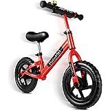 バランスバイク ペダルなし 自転車 子供用 ストライダー キックバイク バランス トレーニング 子供の手と目の協調能力を…