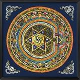 【Woliwowa】 インテリアボード シックな 枠入り 中国 チベット 民族風 デザイン (Cタイプ) [並行輸入品]