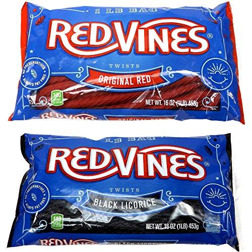 レッドバインズ Red Vines 2種類 [並行輸入品]