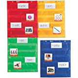 Learning Resources LER2384 Magnetic Pocket Chart Squares,28 L x 34 W in,Multi