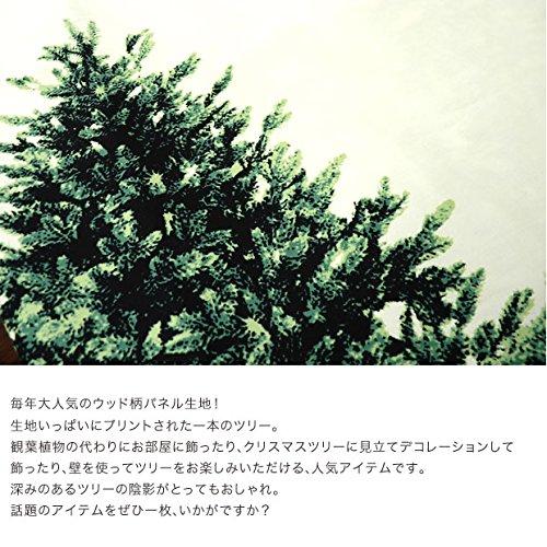 トーカイ クリスマス ツリータペストリー ウッド柄パネル オックス 90cm単位