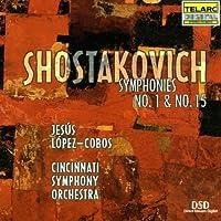 Symphony 1 F Minor Op 10 / Symphony 15 a Major