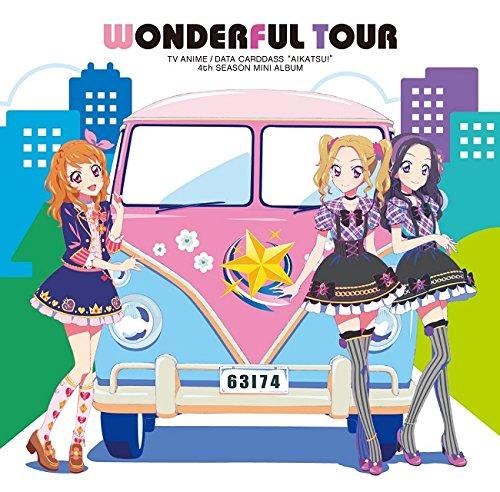 TVアニメ/データカードダス「アイカツ!」4thシーズン挿入歌ミニアルバム「Wonderful Tour」の詳細を見る