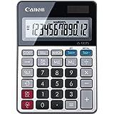 【Amazon.co.jp 限定】キヤノン 電卓 ソーラー LS-122TS (12桁/ミニ卓上サイズ/税計算/商売電卓/ビジネス用/家庭用/テレワーク)LS-122TS