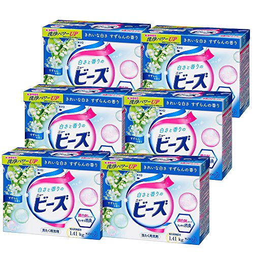 【ケース販売】ニュービーズ 衣料用洗剤 粉末 特大 1.41kg×6個