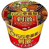 エースコック CoCo壱番屋監修 刺激のスパイスカレーラーメン 105g×12個入り (1ケース)
