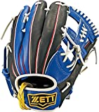 ZETT(ゼット) ソフトボール オールラウンド グラブ(グローブ) リアライズ (左投げ用) BSGB52710 レッド/ブルー