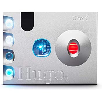 Chord Electronics ヘッドホンアンプ・DAC Hugo 2 [シルバー]