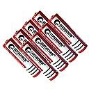 八本セット!GOODGOODS 18650リチウムイオン電池 3600mAh 充電池 リチウムイオンバッテリー CE PSE認証済み 3.7V 保護回路付き LDC-361A