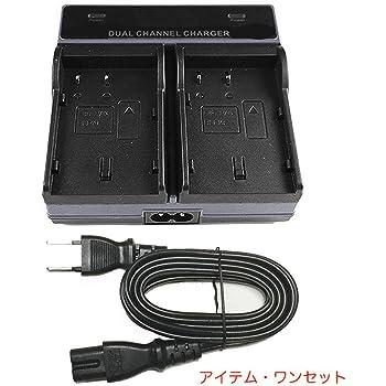 AD-DA™デュアルバッテリー急速充電器 (Panasonic GH3 & GH4 & GH5 DMW-BLF19)