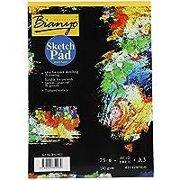 SoarUp スケッチブック 画用紙 スケッチブック A3 スケッチブック 子供 絵画 水彩紙 メモ帳 A3/A4(A3サイズ)